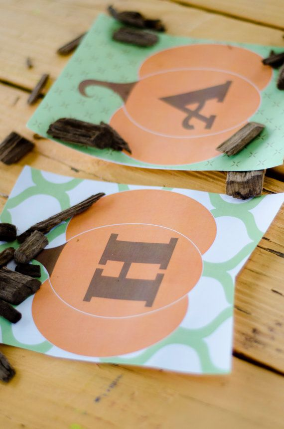 Our Little Pumpkin Printable Party DIY Birthday by lovetheday, $15.00