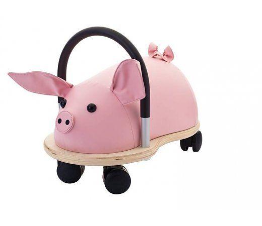 De Wheelybug klein biggetje is geschikt voor kinderen tussen de 1 en 4 jaar. Met de leuke zachte oren en het staartje is het net of je op een echt biggetje zit. De volgende specificaties zijn voor de Wheelybug klein biggetje van toepassing.  http://www.planethappy.nl/wheelybug-biggetje-klein-5802720.html