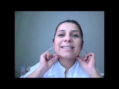 AUTO MASSAGEM FACIAL COM EFEITO LIFTING INSTANTÂNEO - YouTube