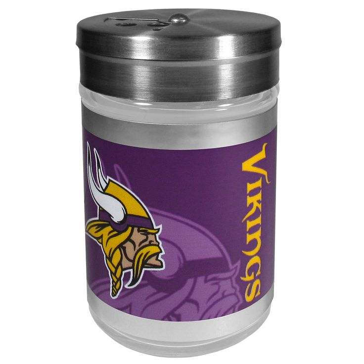 """Checkout our #LicensedGear products FREE SHIPPING + 10% OFF Coupon Code """"Official"""" Minnesota Vikings Tailgater Season Shakers - Officially licensed NFL product Compact and easy to pack for picnics, camping, tailgating or simply a game day backyard BBQ Twist top that closes off holes so you will not make a mess Large holes are perfect for pepper seeds or cheese toppings Bright Minnesota Vikings graphics with chrome accents make this a must-have grill accessory for any fan - Price: $21.00. Buy…"""