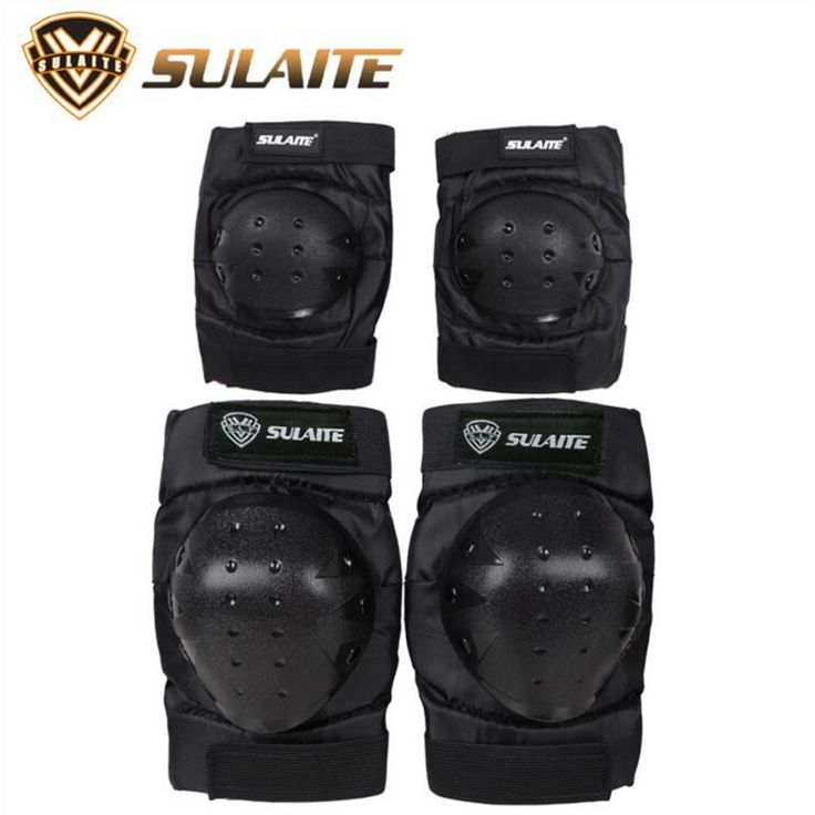 Elbow And Knee Pads Skating Extreme Off - road Outdoor Sports Gear Wheel Sleigh Protection Elbow And Knee Pads #Affiliate