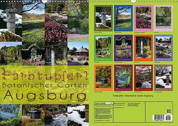 Farbtupferl Botanischer Garten Augsburg 2014 Kalender Photo Wall Photo Frame