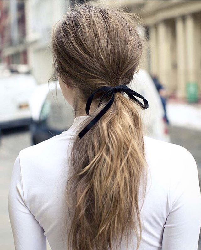 long hair ponytail styles 25 best ideas about low ponytails on 3229 | dd073490a45f7a110215b9877b14115d messy low ponytails wave hairstyles
