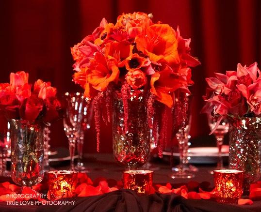 Visual Impact Design Contemporary Wedding Flowers Photo By True