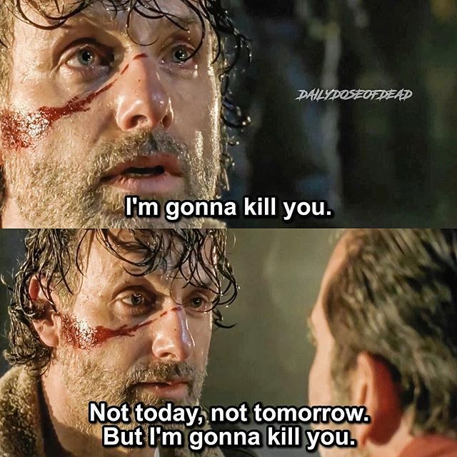 TheWalkingDead / RickGrimes / Negan