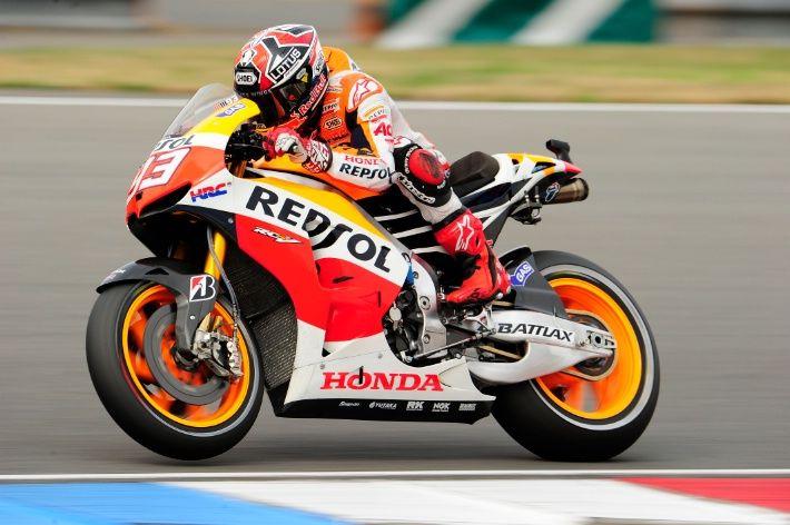 British MotoGP: Marquez starts Silverstone on top