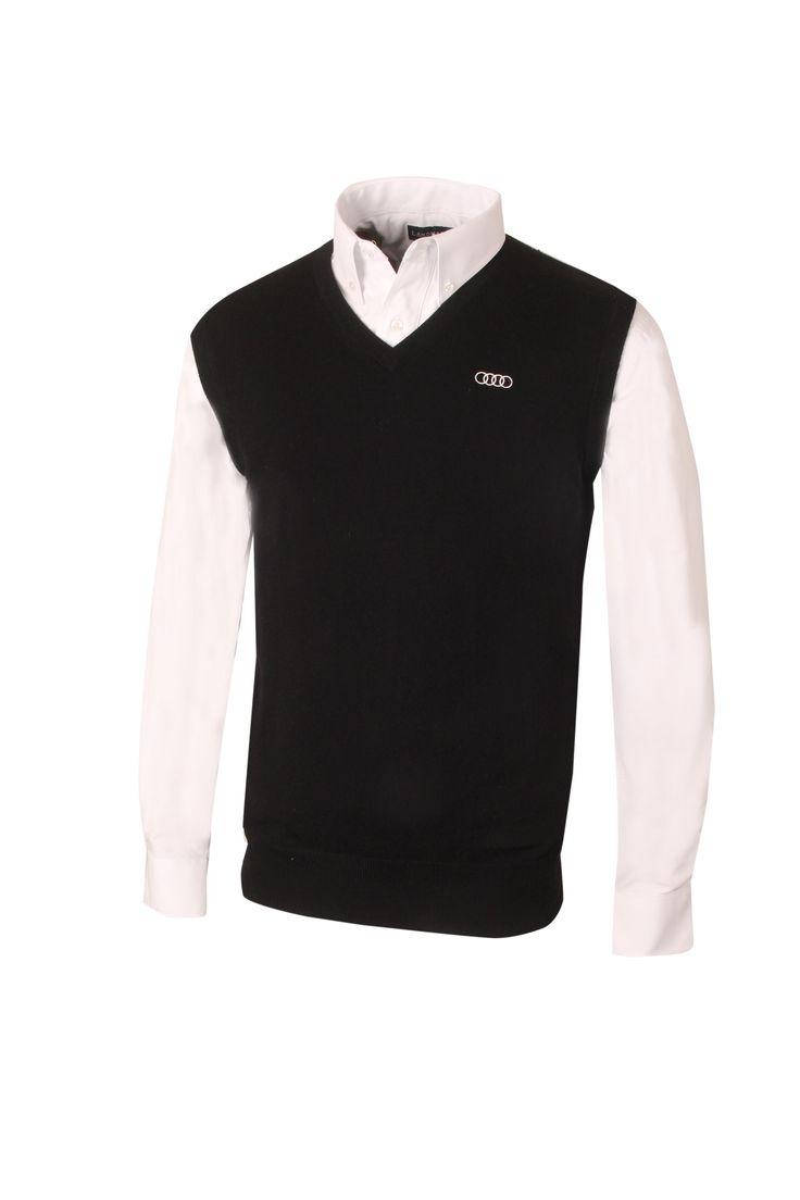Audi. #ACM1996: Peter Millar Merino Sweater Vest