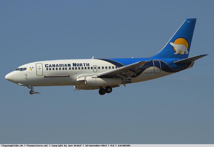 Canadian North Boeing 737-242 (C-GNDU) [c/n 22877 - the last Boeing 737-242]