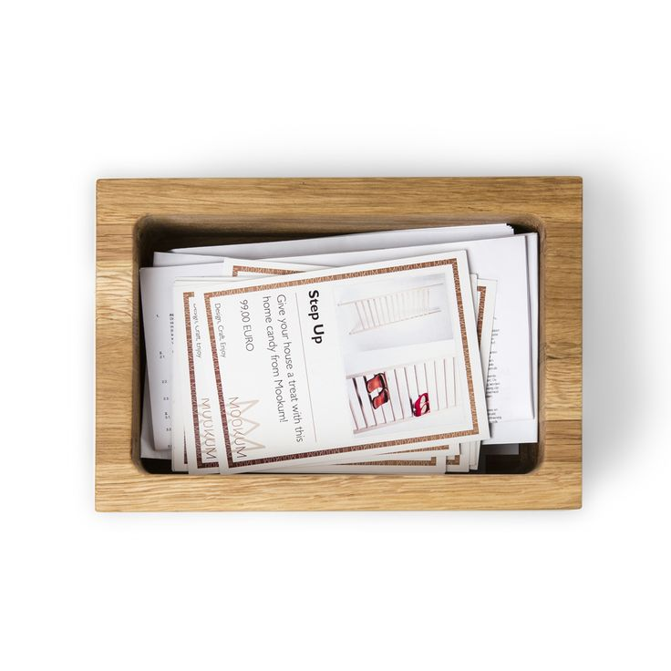 Box U Letter - simple, natural and beautiful. People commit emotions to paper and love to store them for years on a special spot. Design by Kaspar Hamacher. Available at 69 euro.