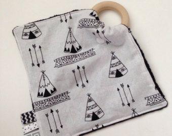 Raketten Tula tandjes deken gepersonaliseerde door TheTeethingFairy