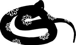 """Year of the Snake 1905, 1917, 1929, 1941, 1953, 1965, 1977, 1989, 2001, 2013 Oh my, this Chinese zodiac animal is a slippery one. So many awesome attributes, but often hard to pin down. You never quite know where you stand with a Snake, and the same goes for the year of the Snake. One minute everything is copacetic, and the next minute you find yourself flummoxed - asking """"what just happened!?""""."""