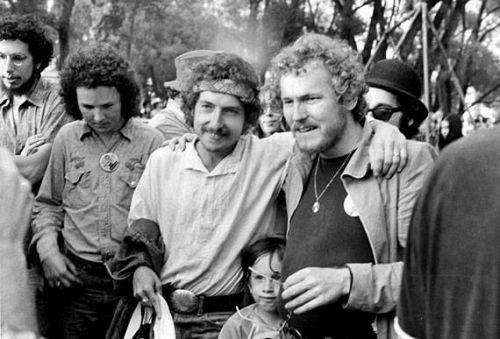 12-Bob Dylan, Jesse Dylan, Gordon Lightfoot at the Mariposa Folk Festival. Toronto, 15 July 1972