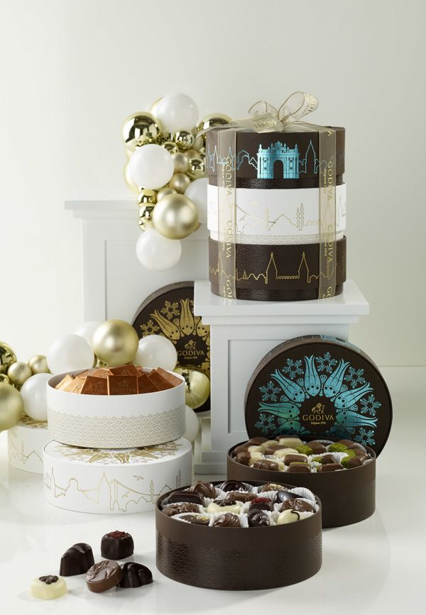 GODIVA for Istanbul Collection packaging by Lunapark