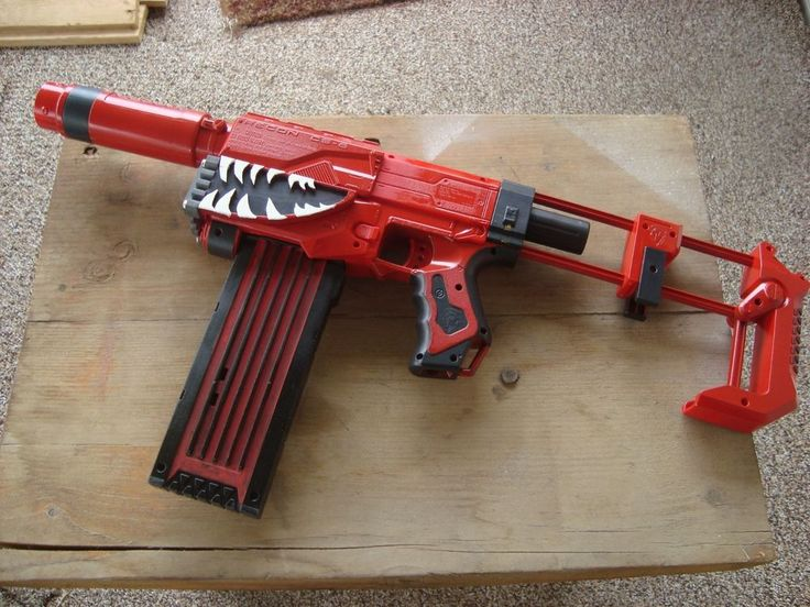 the new Nerf Modulus Recon Mk II blaster! This is actually a re-shell of  the old Nerf Recon / Nerf Retaliator blaster. It has many things in common…