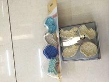 frete grátis 300pcs/lot última versão selo 3d star wars conjunto cortador de biscoitos bolo fondant ferramentas de decoração pacote de bolha(China (Mainland))