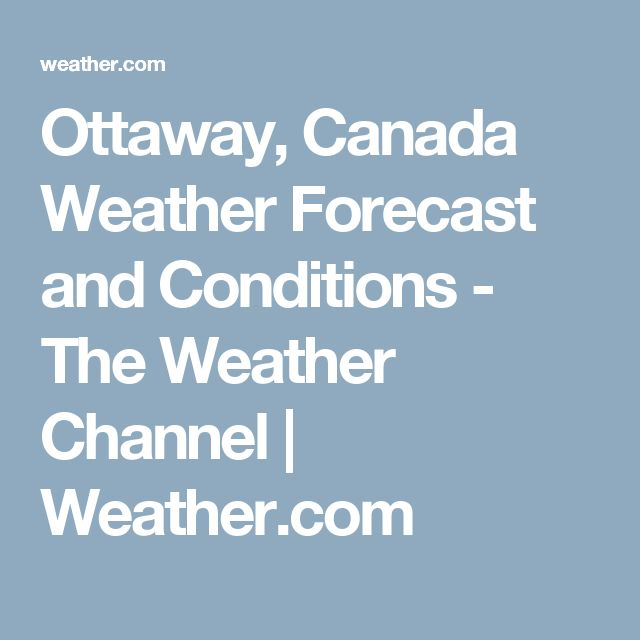 Ottaway, Canada Weather Forecast and Conditions - The Weather Channel | Weather.com