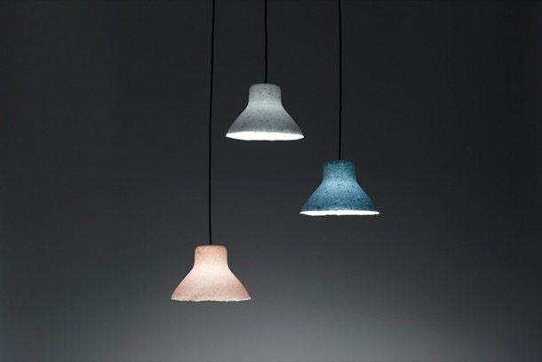 Lámparas de papel japonés, de Nendo - ARQUIGEEK