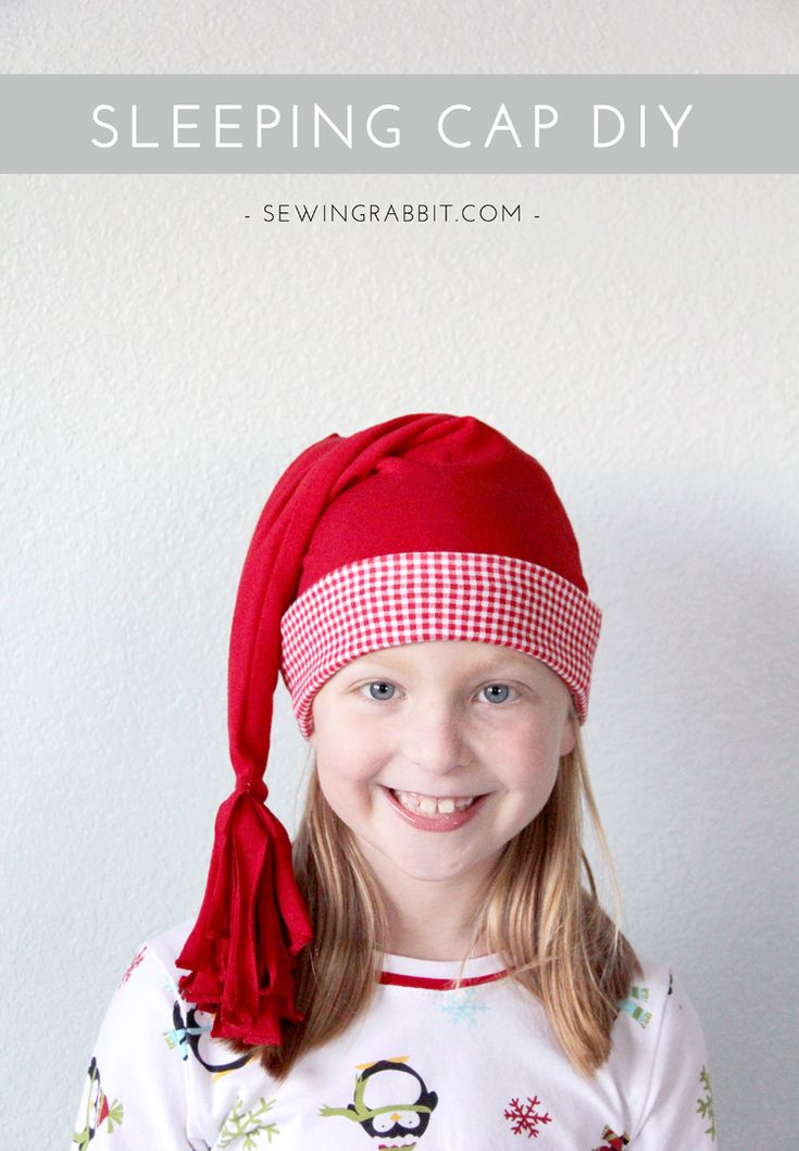 Sleeping Cap DIY & Christmas Jammies | Sew with JOANN ...