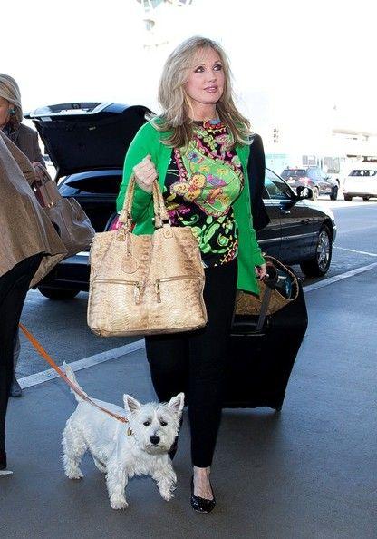 Morgan Fairchild Arrives in LA - December 2013