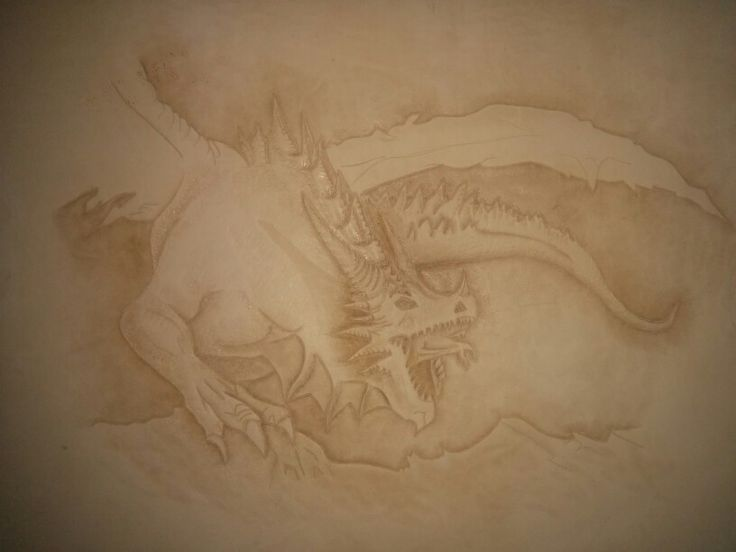 Dragon design laptop case