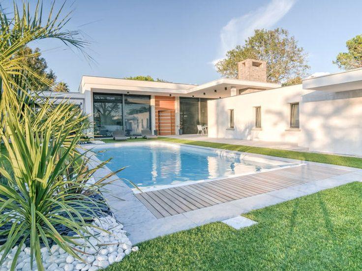 10 super maisons d 39 archi modernes maison plain pied for Petite villa moderne