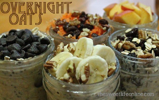 overnight oatmeal ideas