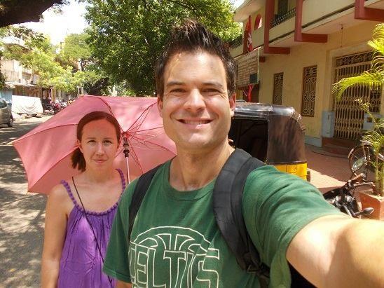Traveller Ryan Biddulph in India