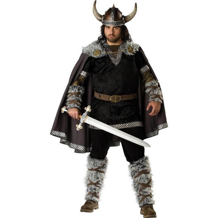 Disfraz de vikingo talla grande para hombre