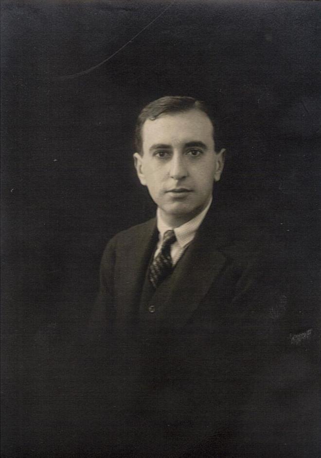 El escritor Vicente Huidobro.