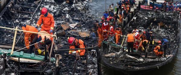 Pencarian Korban KM Zahro yang Tenggelam di Jakarta Utara Diteruskan