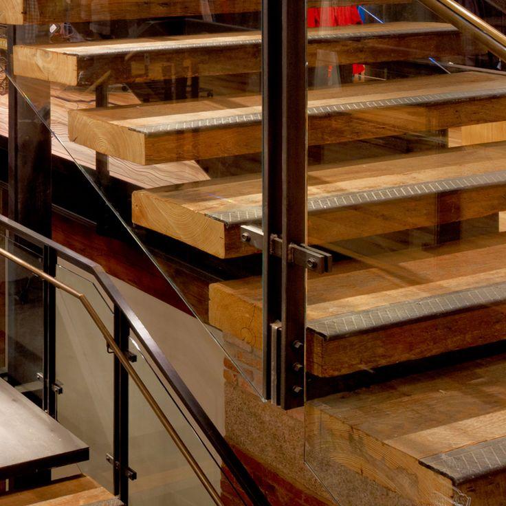 Best Reclaimed Oak Stair Treads Terramai Reclaimed Wood 400 x 300