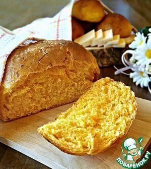 Морковный хлеб с кунжутом