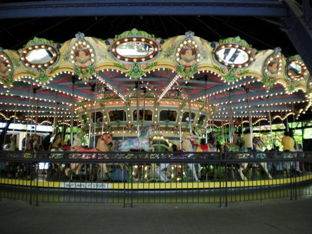 Kennywood Park Carousel