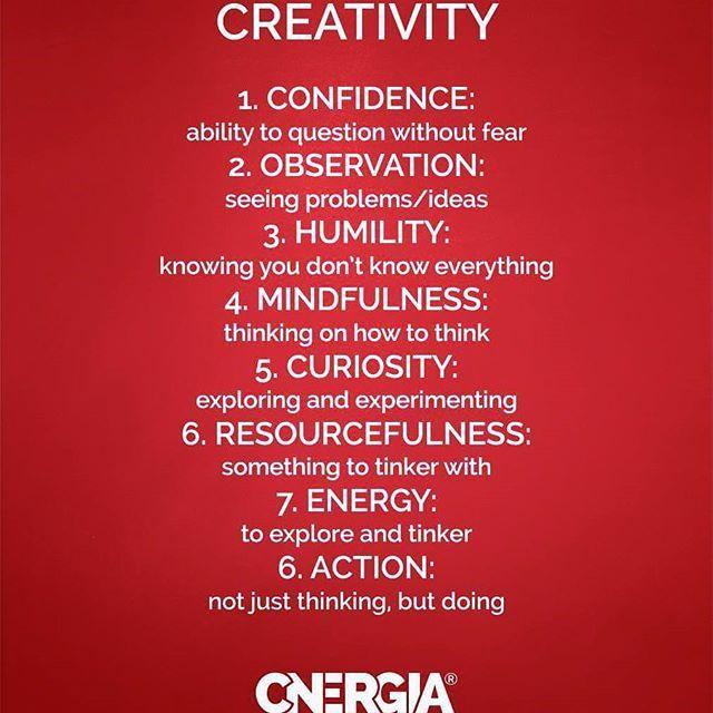 #creativity #cnergia4u