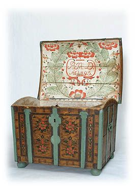Bridal chest. 1803.