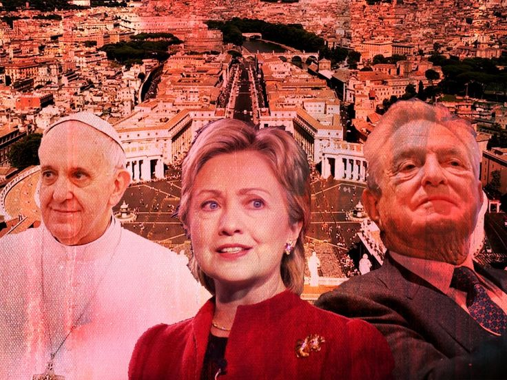 George Soros, Barack Obama and Hillary Clinton were behind a Vatican coup to remove conservative Pope Benedict and install radical leftist Pope Francis, according to Catholics leaders citing WikiLeaks and other evidence.