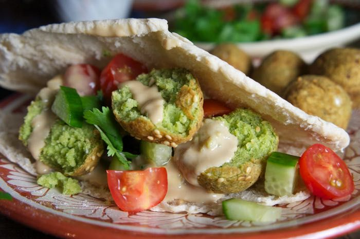 ... Falafel Feast on Pinterest | Best falafel recipe, Falafel recipe and