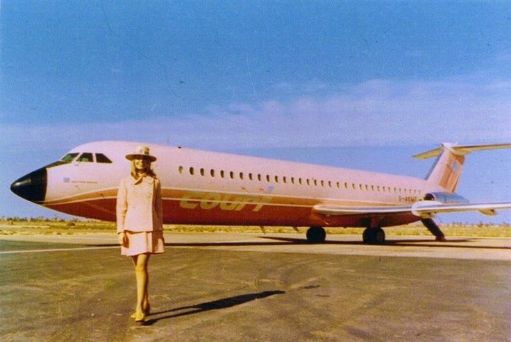 The good old Halcyon days of colourful Courtline with their incredible liveries and Uniforms ❤️ #confessionsofatrolleydolly #cabincrew #flightattendant #styleintheaisles