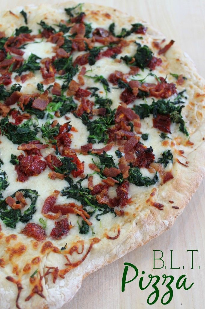 BLT White Pizza via Keep It Simple Sweetie