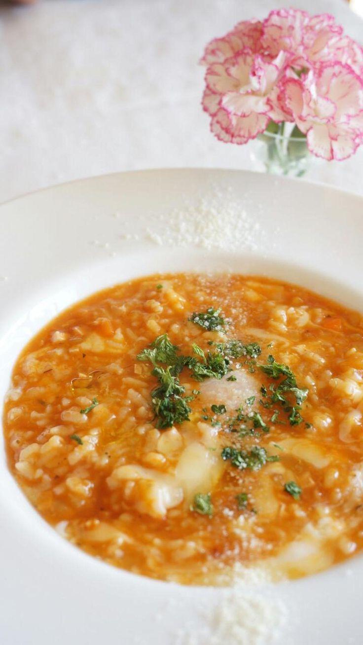 トマトのイタリアン粥 by 本村 美子 | レシピサイト「Nadia | ナディア」プロの料理を無料で検索