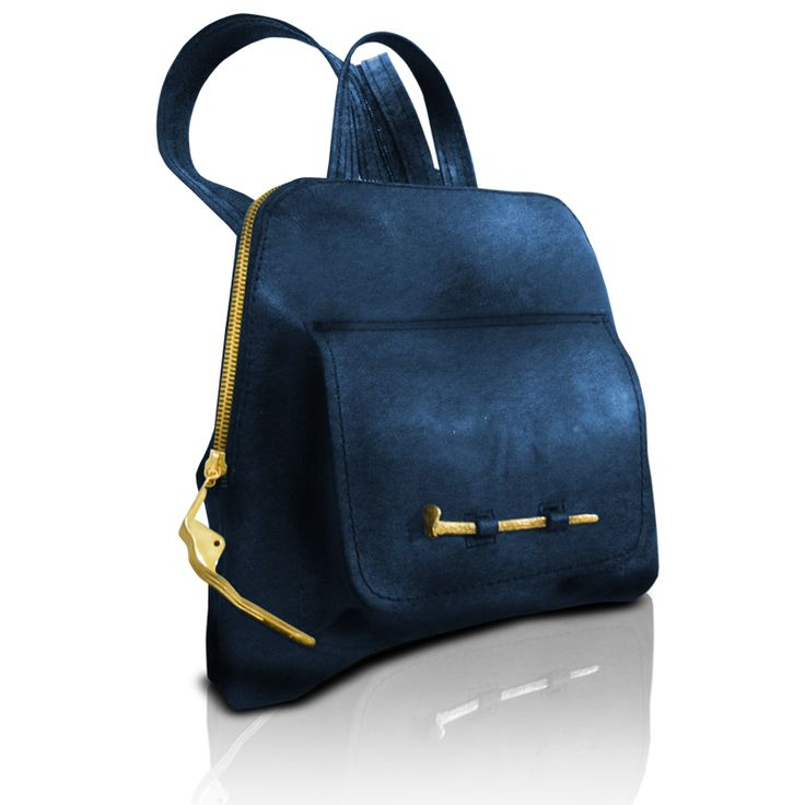 Leather  handmade backpack. http://larou.gr/product/larou-zerotwo20/