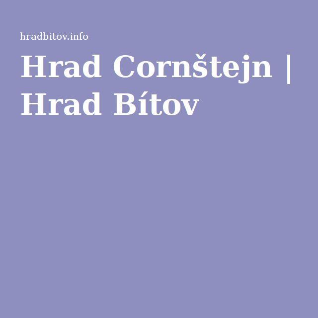 Hrad Cornštejn   Hrad Bítov