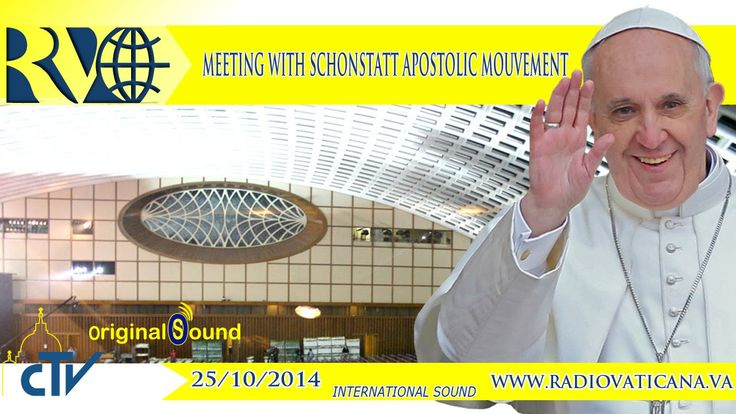 Meeting with the Schönstatt Movement 2014.10.25