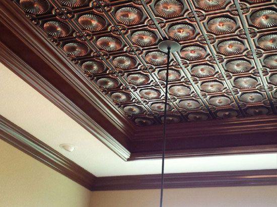 396 Best Decorative Ceiling Tiles Images On Pinterest