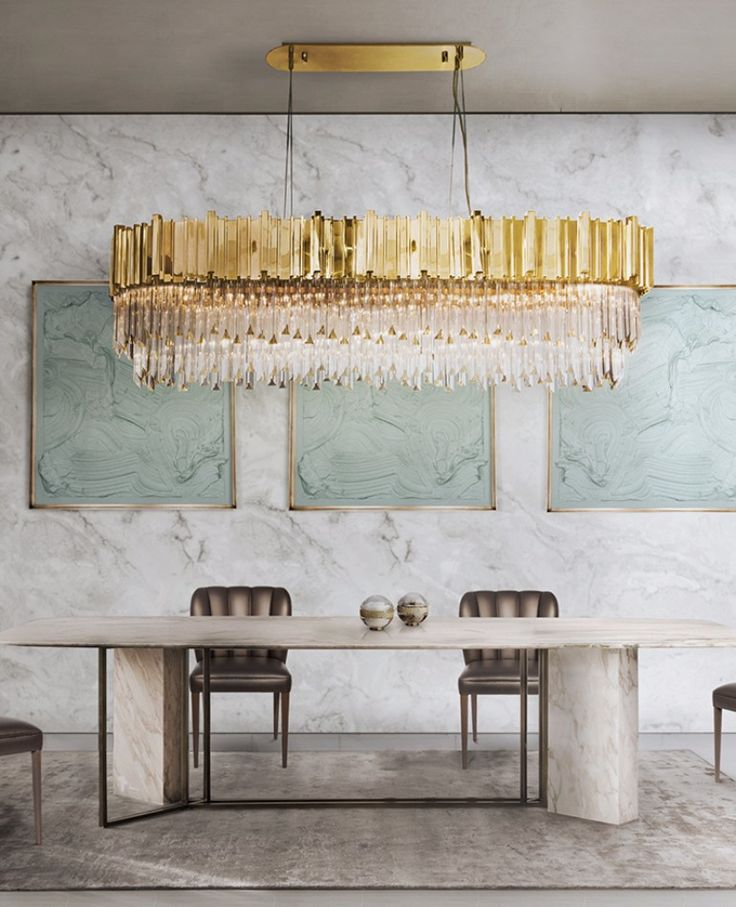 7 dazzling dining room lights that steal the show