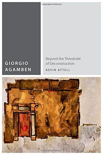 Giorgio Agamben: Beyond the Threshold of Deconstruction (Commonalities (FUP))