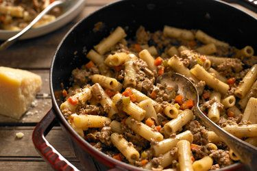 Rigatoni with White Bolognese - NYT