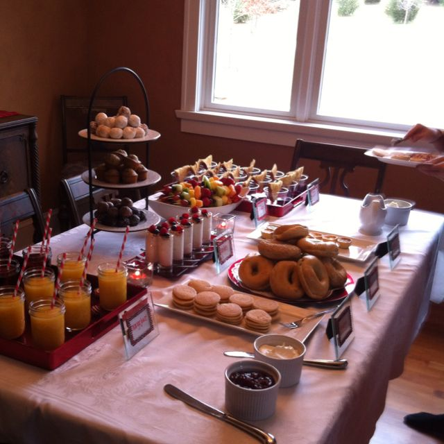 Great brunch table