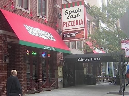 Gino's East Pizzeria. The best pizza in the states; probably one of the best restaurants in city as well.