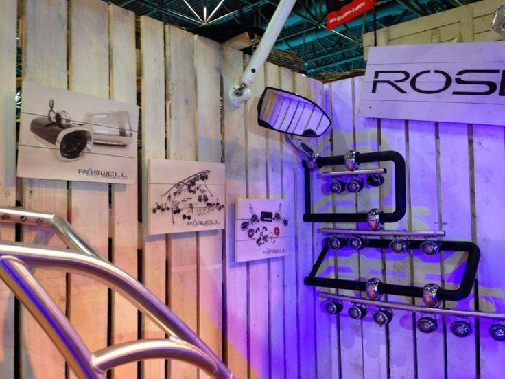 Roswell valt op, op de #beurs in Dusseldorf. #standbouw